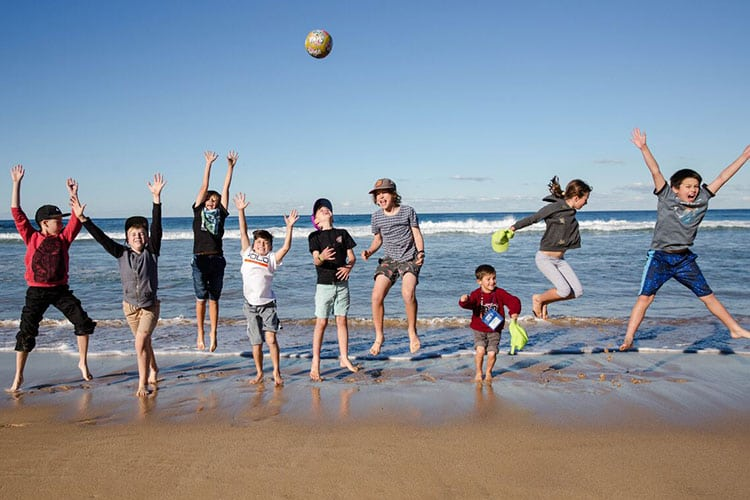 outdoor water fun for teenagers