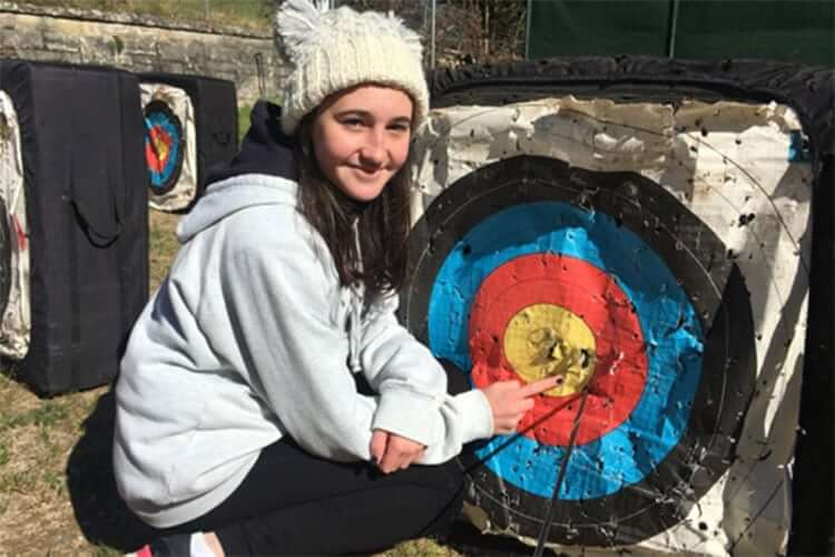 archery lessons for teenagers