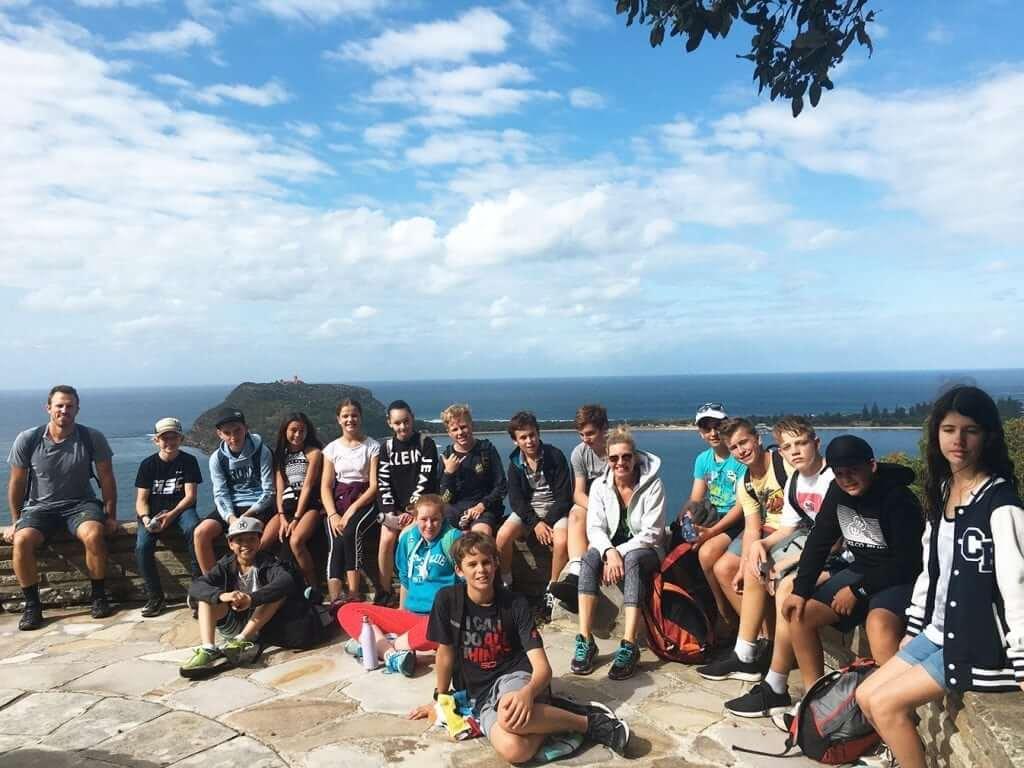 hiking trip for teens