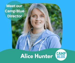 Camp Blue Manly Director Alice Hunter