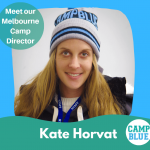 Meet our Camp Blue Melbourne director Kate Horvat