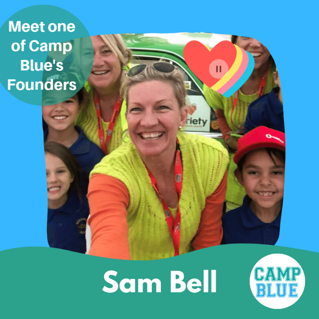 A photo of Camp Blue Founder Sam Bell